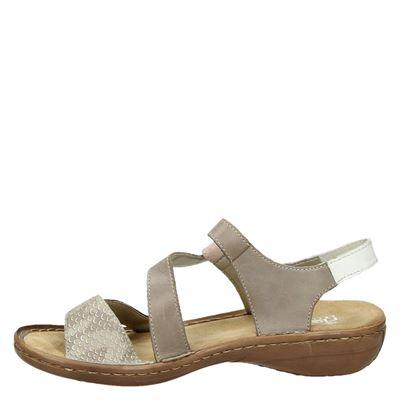 Rieker dames sandalen Beige