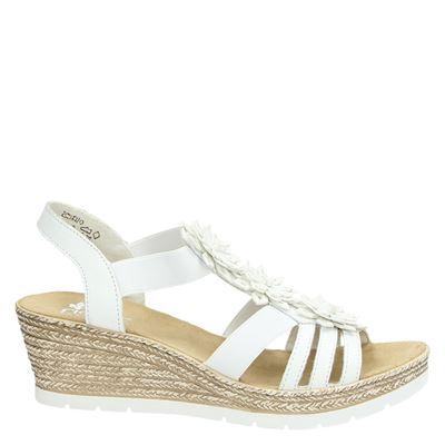 Rieker dames sandalen wit