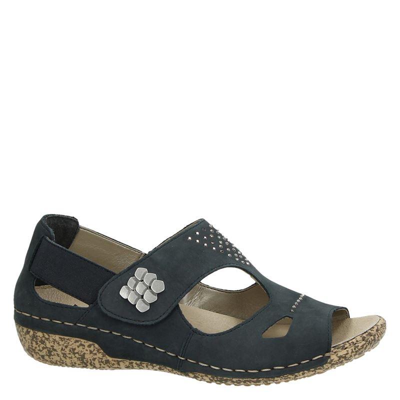Rieker - Klittenbandschoenen - Blauw