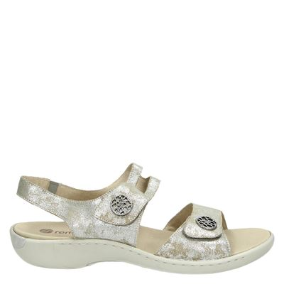 Remonte dames sandalen zilver