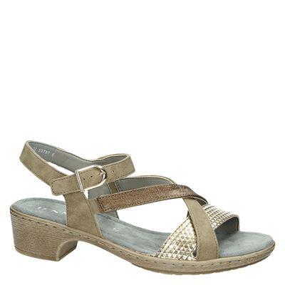 Jenny dames sandalen Brons