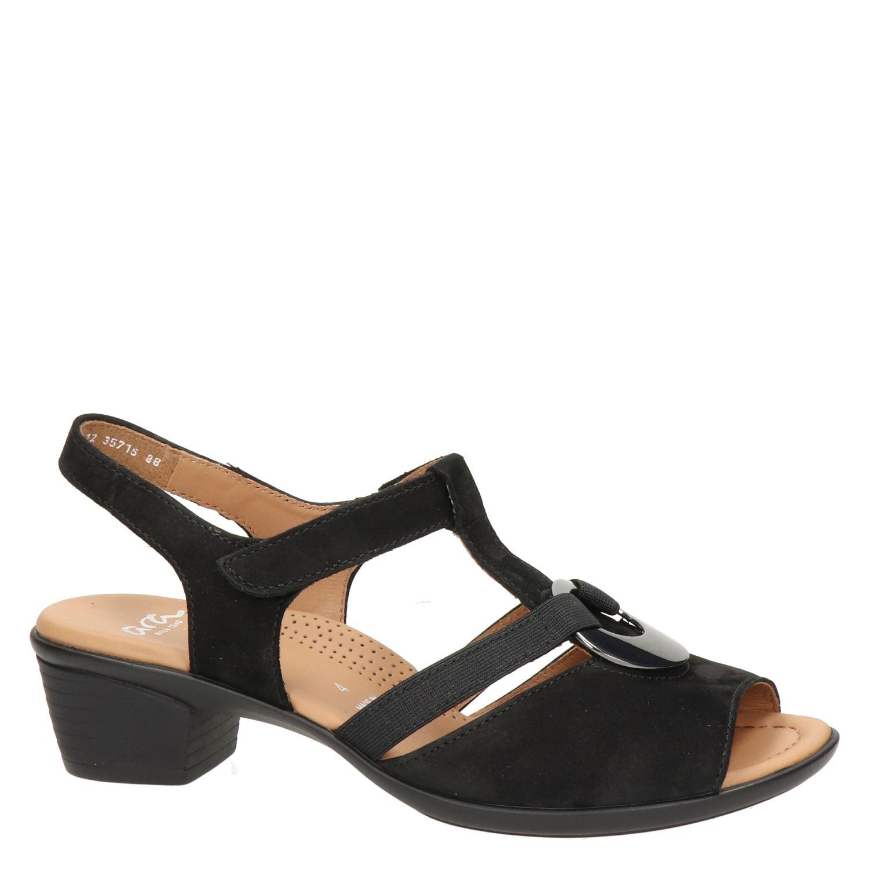 39 Sandales Noires Par Ara CTnOE