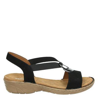Jenny dames sandalen zwart