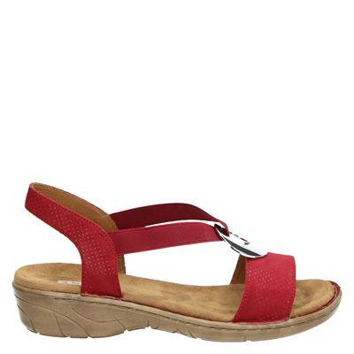 Jenny dames sandalen rood
