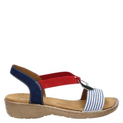 Jenny dames sandalen blauw