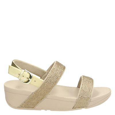 Fitflop dames sandalen goud
