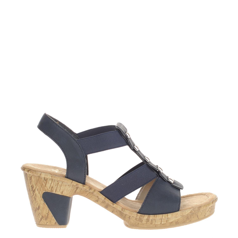 38 Sandales Bleu Rieker eYR83z