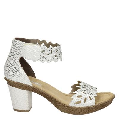 Rieker dames sandalen zilver