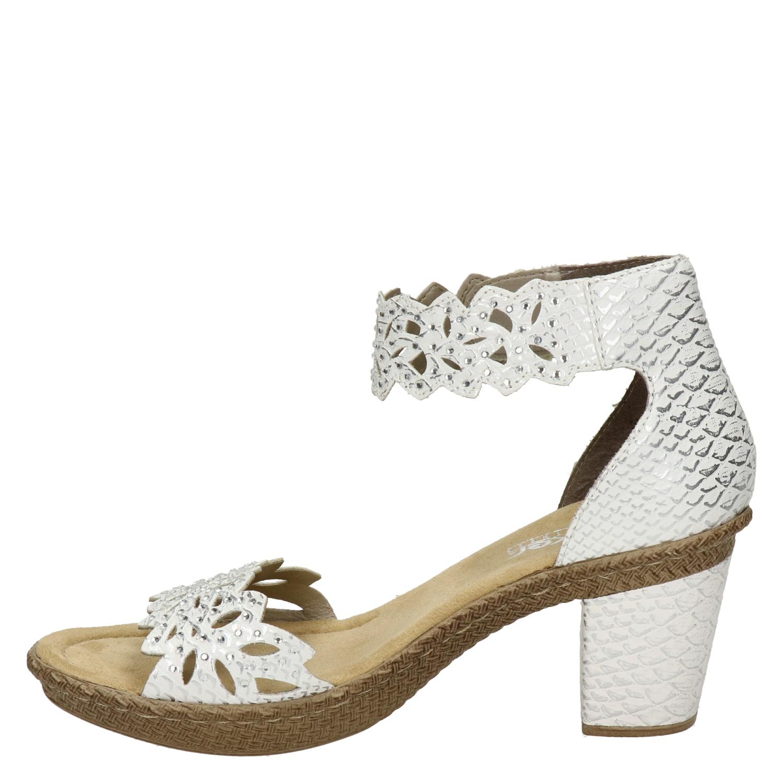 Sandalen met Sleehak Rieker Zilver Schoenen kopen
