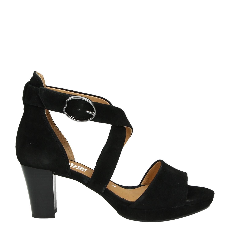 6 Sandales Noires Par Gabor KxvrRRu