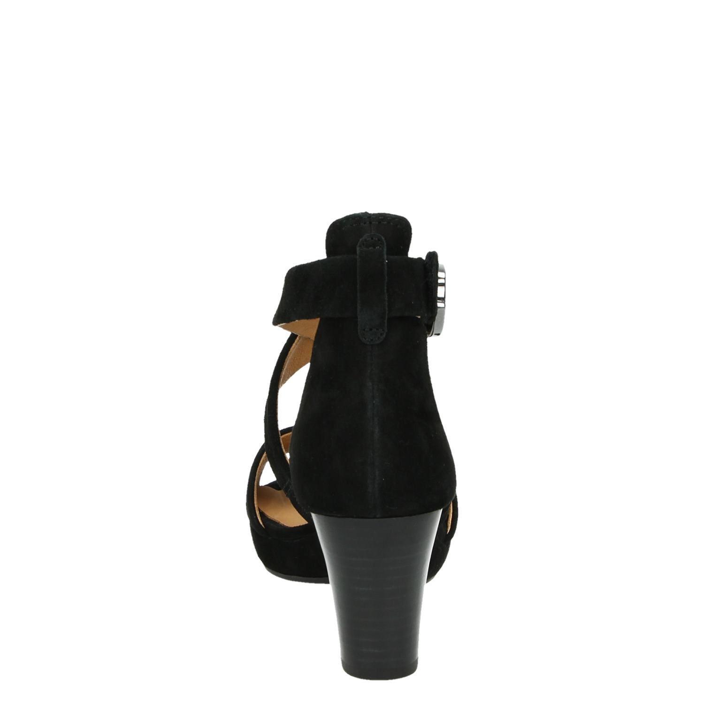 Sandales Noires 5,5 Par Gabor