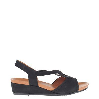 Ara dames sandalen zwart