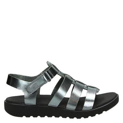 Ecco dames sandalen zilver
