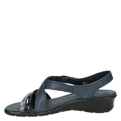 Ecco Feliciadames sandalen Blauw
