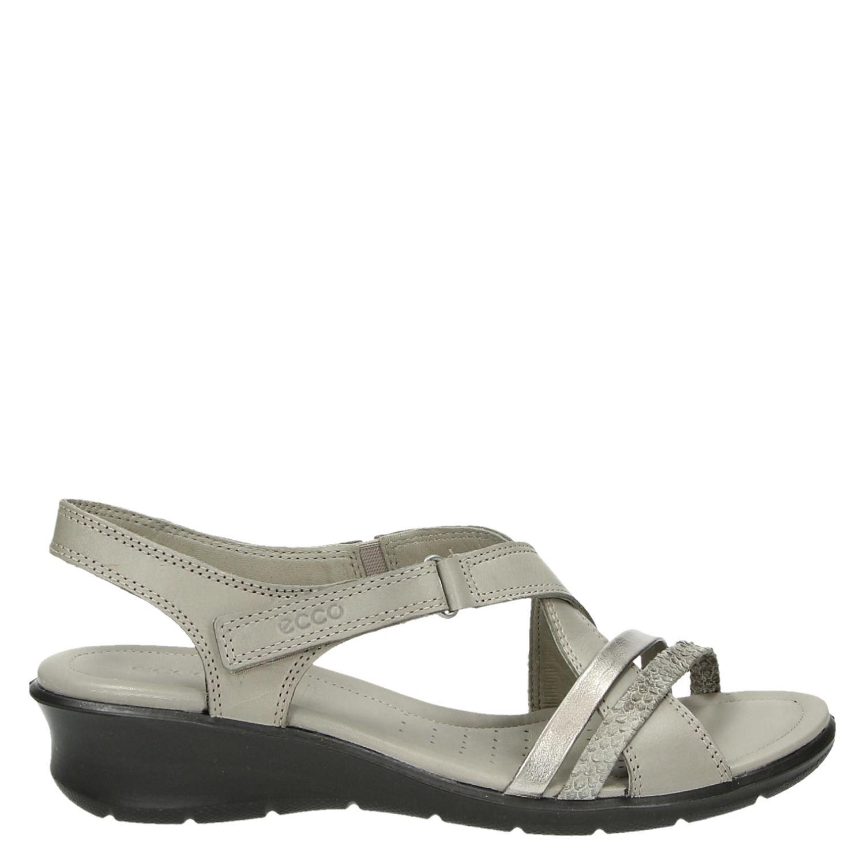 5a4b1e2879e495 Ecco Felicia dames sandalen beige