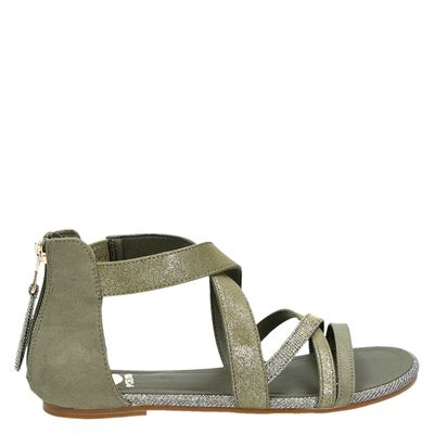 PS Poelman dames sandalen groen
