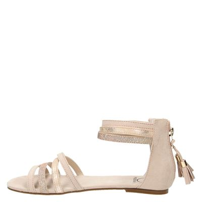 PS Poelman dames sandalen Rose goud