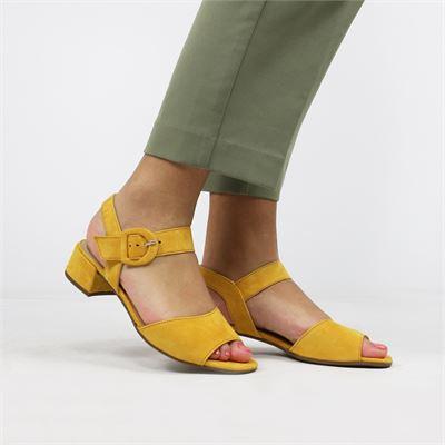 Gabor dames sandalen geel
