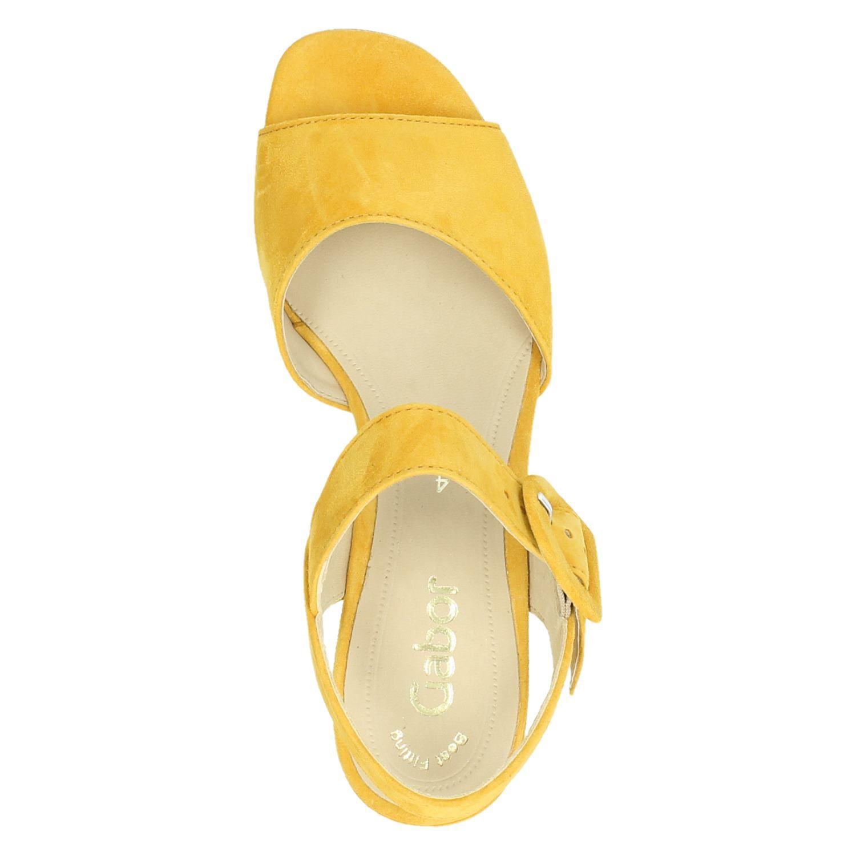 Gabor Comfort Gele Sandalen Dames 43