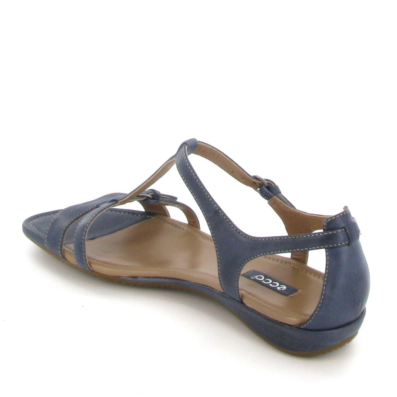 ecco dames sandalen blauw. Black Bedroom Furniture Sets. Home Design Ideas