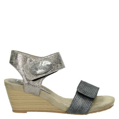 Hobb's dames sandalen brons