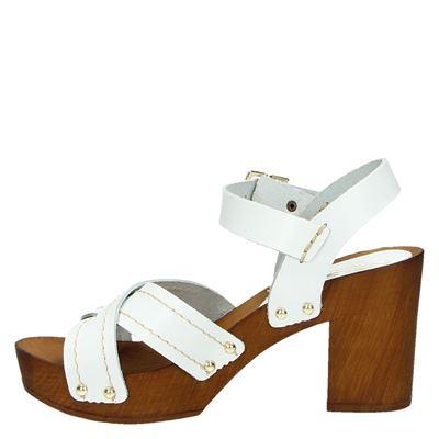Nelson dames sandalen Wit