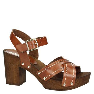 Nelson dames sandalen Cognac