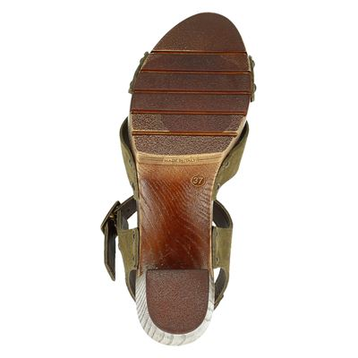 Nelson dames sandalen Groen