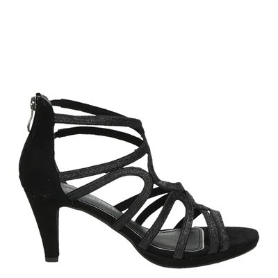 Marco Tozzi dames sandalen zwart