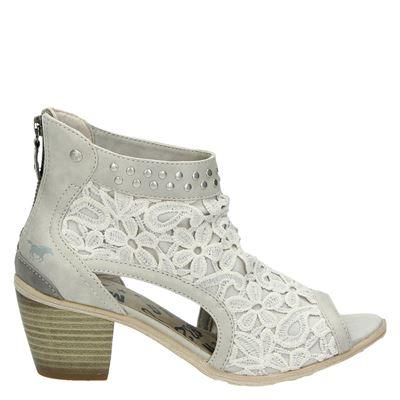 Mustang dames sandalen Ecru