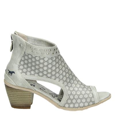 Mustang dames sandalen zilver