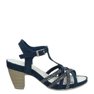 S.Oliver dames sandalen blauw