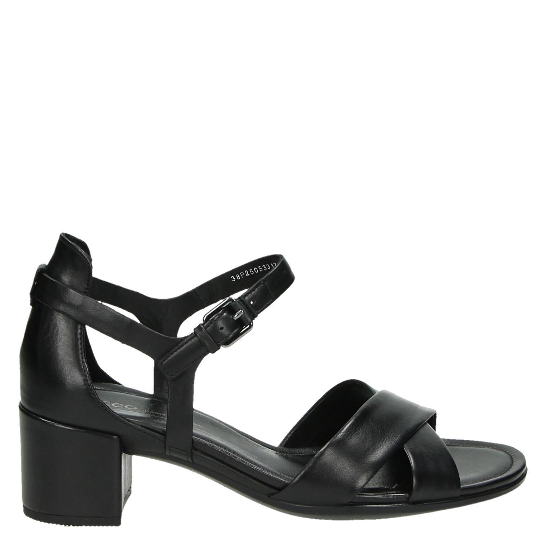Sandales Ecco Noir Taille 35 Bloc pJWqjXrURr