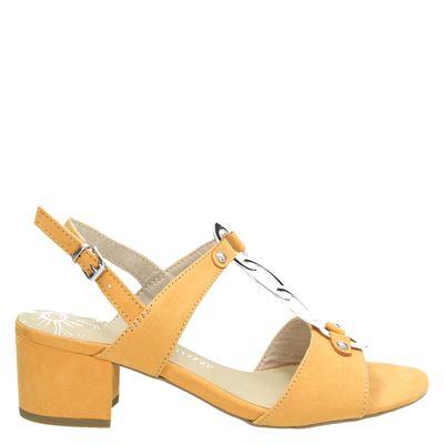 Marco Tozzi dames sandalen geel