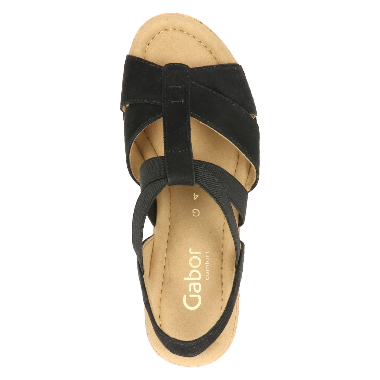 Gabor Comfort Sandalen zwart