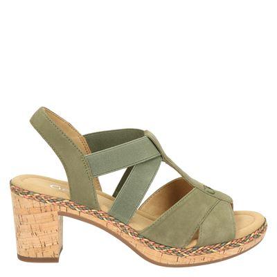 Gabor dames sandalen kaki