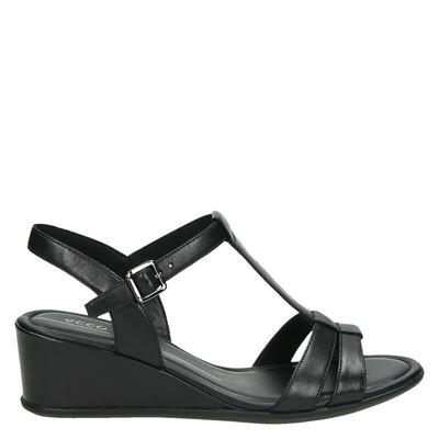 Ecco dames sandalen zwart
