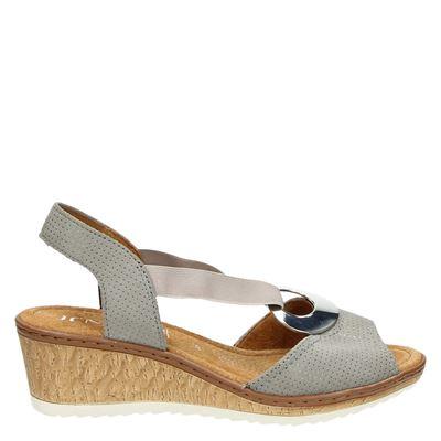 Jenny dames sandalen taupe