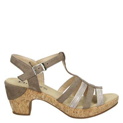 Hobb's dames sandalen taupe