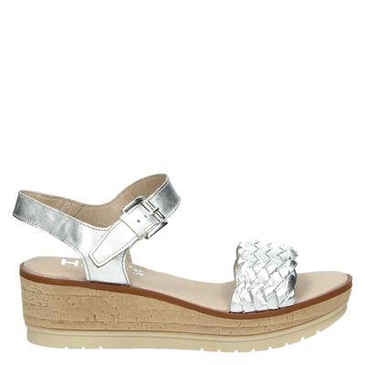 Hobb's dames sandalen zilver