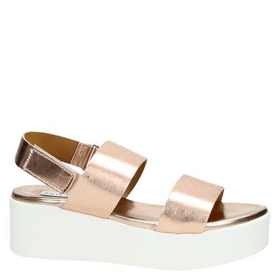 Steve Madden Racheldames sandalen Rose goud
