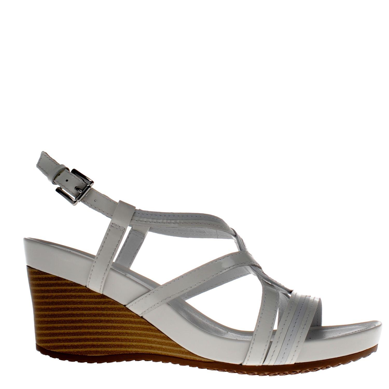 geox dames sandalen wit. Black Bedroom Furniture Sets. Home Design Ideas
