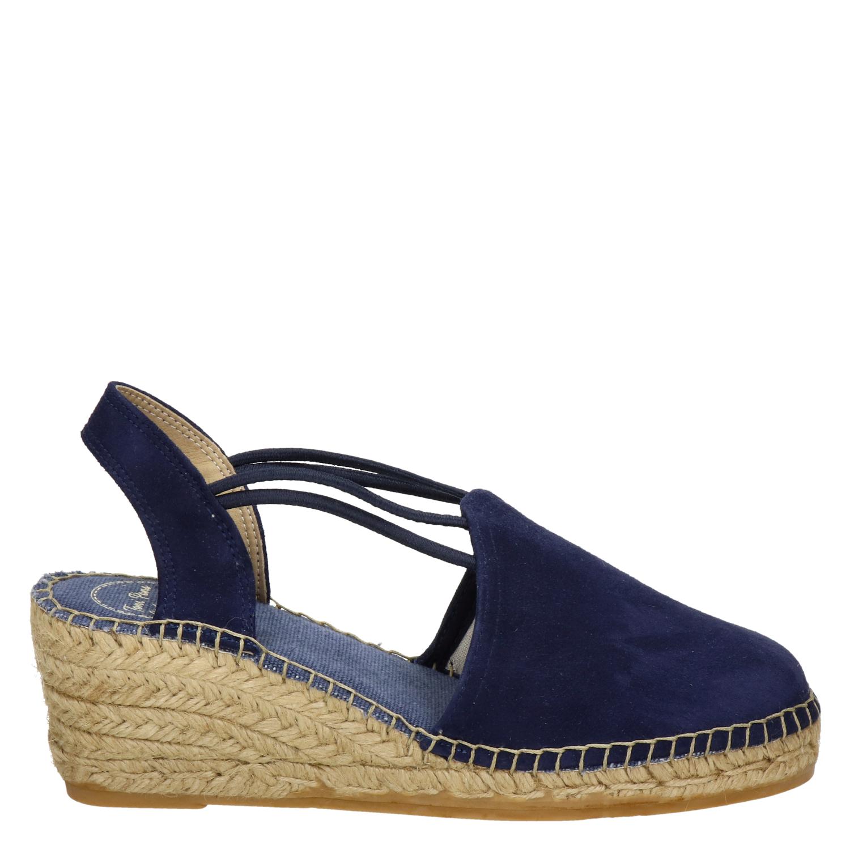 schoenen blauw dames