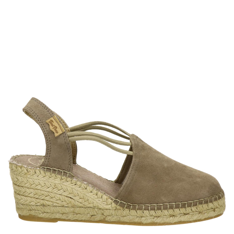 Toni Vert Pons Chaussures Compensées Pour Les Femmes 49aMKfKzr