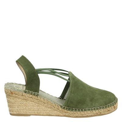 Toni Pons dames espadrilles groen