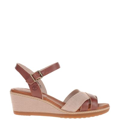 Timberland dames sandalen bruin