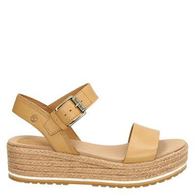 Timberland dames sandalen beige