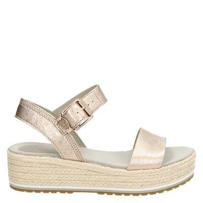 Timberland dames sandalen rose goud