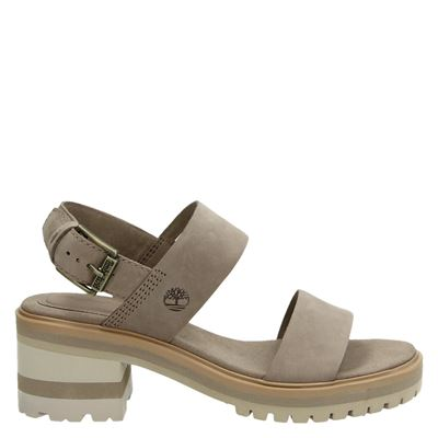 Timberland dames sandalen taupe