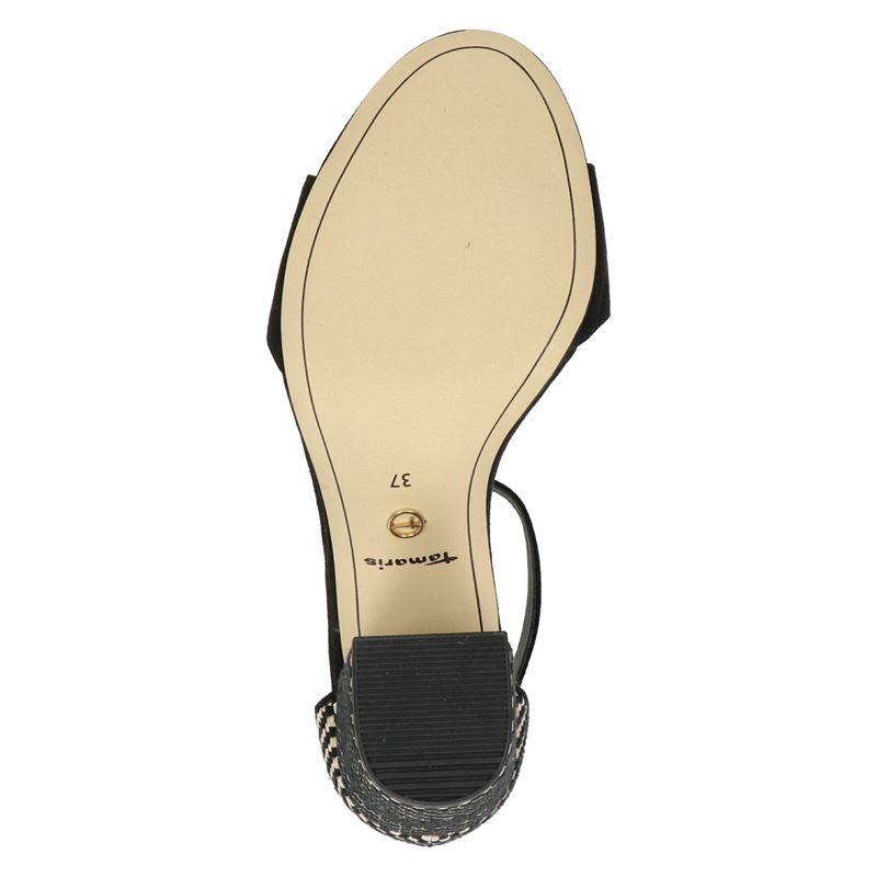 Tamaris - Sandalen - Zwart